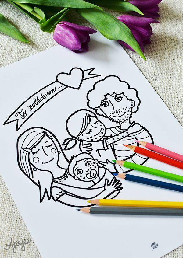 Coloring page by Ajeejee  To zvládnem... neštovice - uzdravovací omalovánka