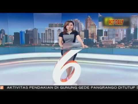 Hot Sexy Putri Permatasari Menonjol Cantik nya di Liputan 6 SCTV 5 Desem...