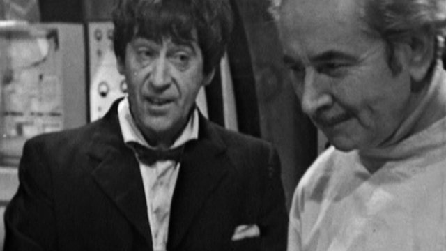 Patrick Troughton - the first Dr Who
