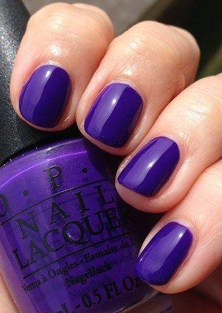 purple nails   – Nailed It