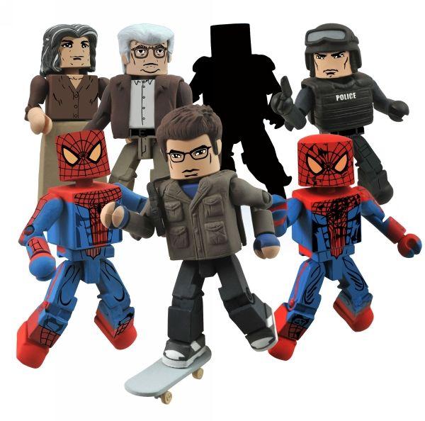Marvel Minimates série 46 AMAZING SPIDER-MAN MOVIE LIZARD