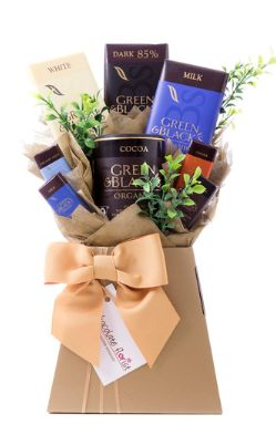 Our chocolate bar bouquets are perfect for anyone no matter what their age.