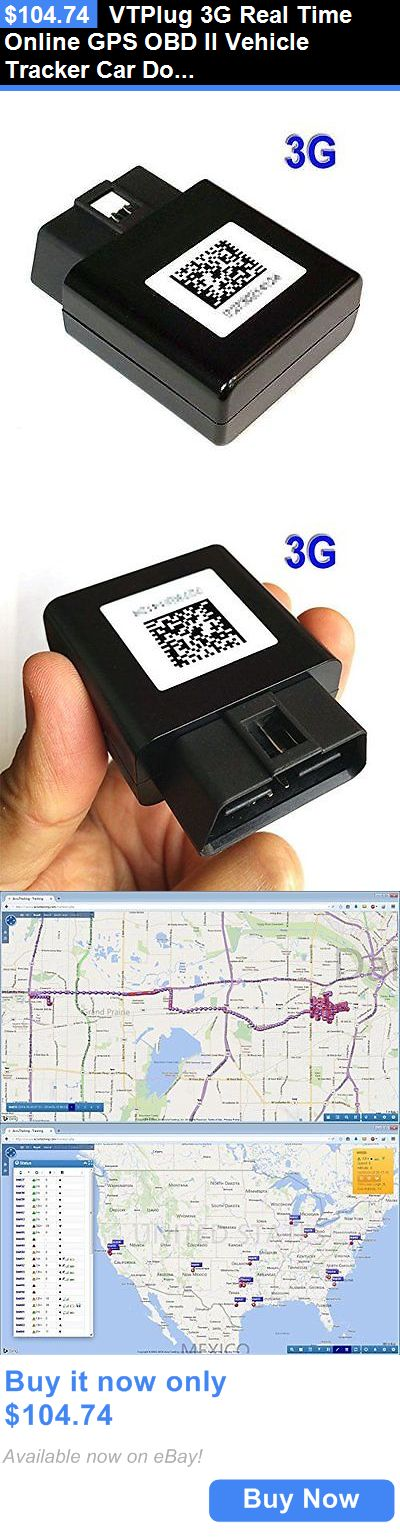 Tracking Devices: Vtplug 3G Real Time Online Gps Obd Ii Vehicle Tracker Car Doctor Accutracking BUY IT NOW ONLY: $104.74