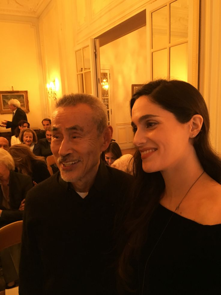 Yoshi Oida - Eva Simatou à l'Ambassade de Grèce à Paris