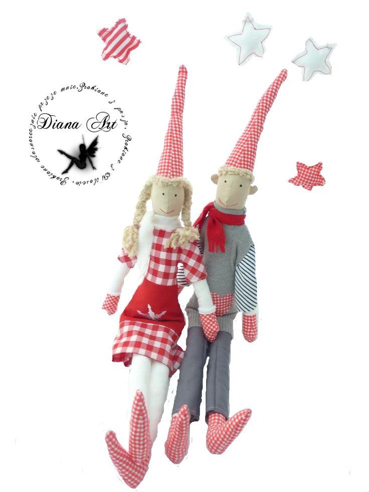 christmas elves, gnome, decoration,
