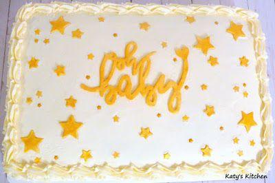 Funkeln, Funkeln, kleiner Stern-Blatt-Kuchen   – Baby Shower Cakes