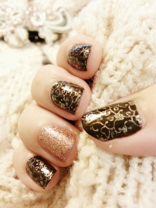 Cozy with a touch of sparkle