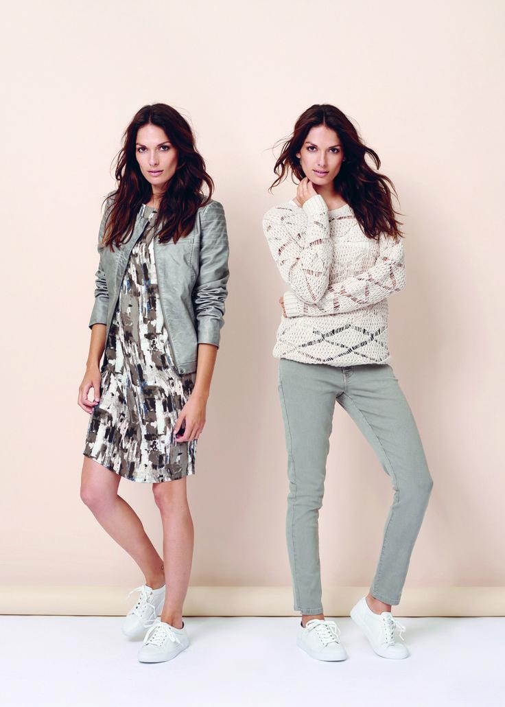 soyaconcept - jacket - leather jacket - dress - alloverprint - knit - blouse - pants - jeans