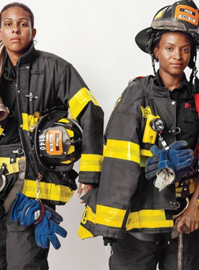 The Fire Academy opened its entrance exam to women in 1978, the state of New York did not have its first female firefighter until 1982. FDNY added 4 new female firefighters, bring the total to 41 out of the 10,400 FDNY members that are women. The calendar portraits of these women show a small but growing population within the New York Fire Department. These women are changing the face of the FDNY. Tracey Lewis is the second African American woman to be promoted to Lieutenant in 12 years.