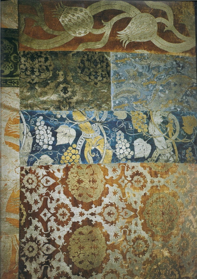 Acquired Objects: Fortuny Final: Silk Velvet: Silk Velvet, Mariano Fortunes, Fortuni Velvet, Fortuni Finals, Blue Green, Fortuni Silk, Acquir Object, Fabrics Fortunes, Texture Prints Patterns