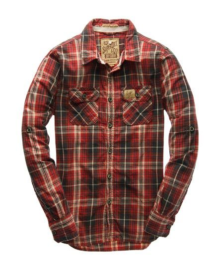 Superdry Lumberjack Twill Shirt available at Superdry, Union Square Aberdeen