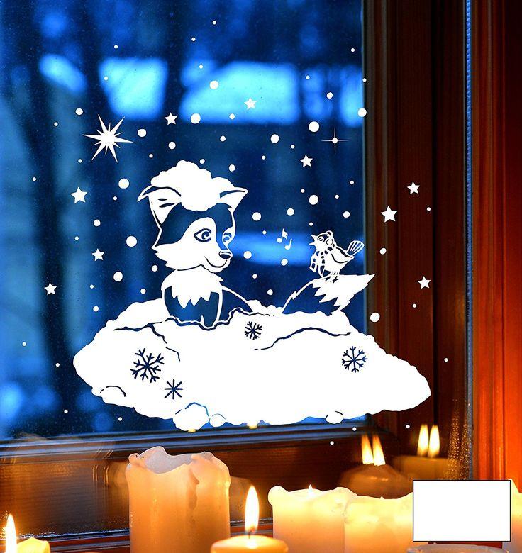 Смешные картинки на окно новогодние, открытку днем