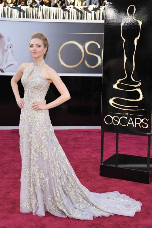 Amanda Seyfried - Alexander McQueen -  Oscar 2013