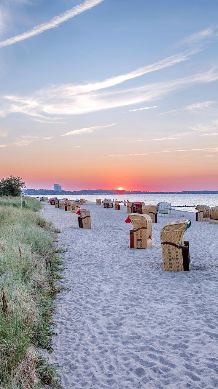 Pin Auf Sonnenuntergang Am Meer