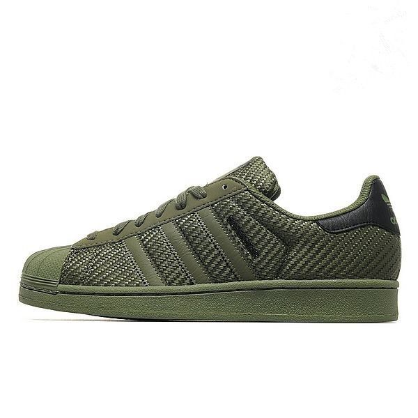 Sale Herren Sneakers-Adidas Originals Superstar-Grün