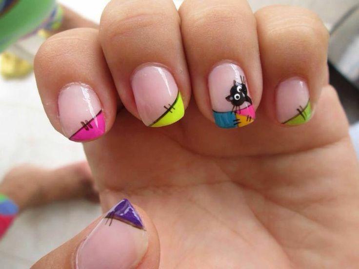 Lindas uñas con gatico