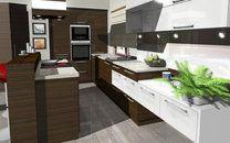 moderna kuchynska linka na mieru
