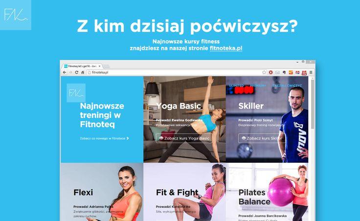Ciekawa co nowego w Fitnoteq ? Wejdz na http://fitnoteka.pl