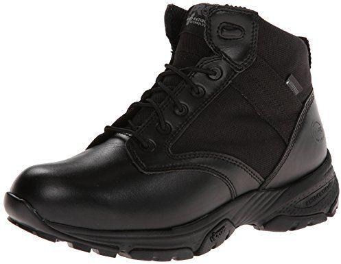 "Timberland Men's 5"" Valor Soft-Toe Waterproof Side-Zip Duty Boot"