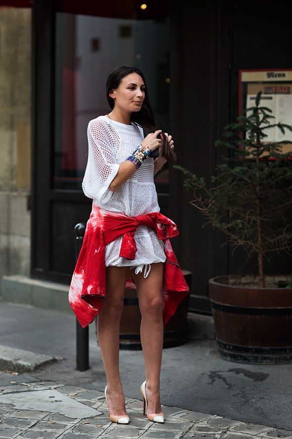 #fashion-ivabellini On the Street……. Rue Bachaumont, Paris « The Sartorialist