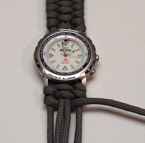 Cómo tejer una correa de reloj                              …