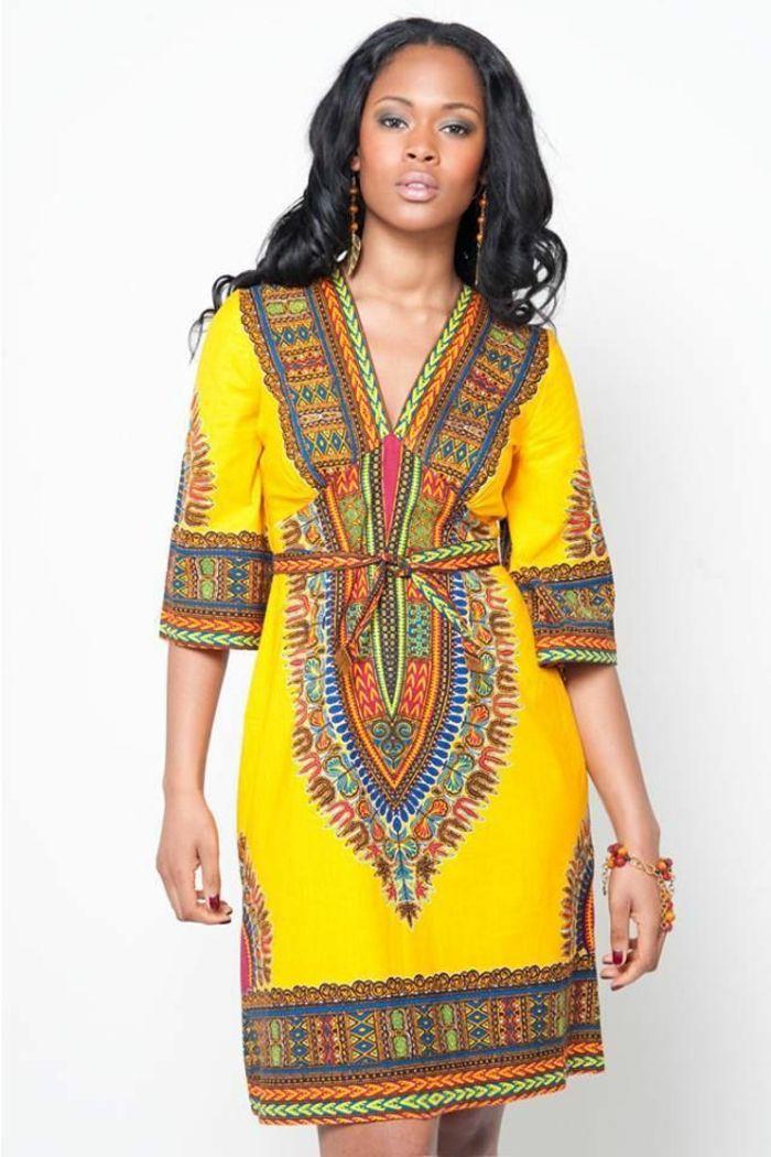 1001+ idées de pagne africain stylé et comment le porter | African fashion, African attire ...