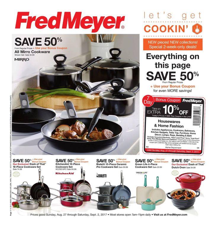 Fred Meyer Merchandise Ad August 27 - September 2, 2017 - http://www.olcatalog.com/grocery/fred-meyer-sales.html