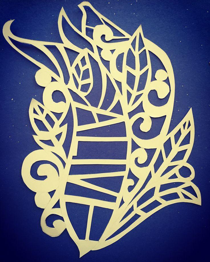 Paper cut art by Don Prewitt. #papercutart