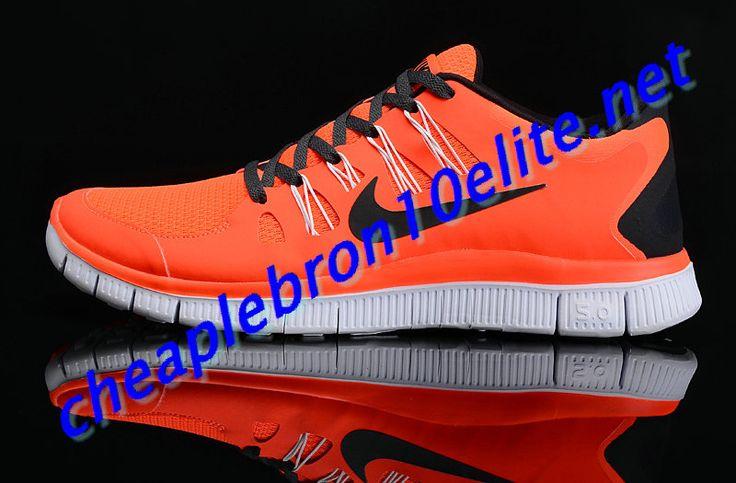 new styles 2d3e8 2db50 ... cheap orange nike free 5.0 mens black 579959 831 e8ef7 f9587