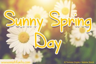 Sunny Spring Day is a cute, handwritten font that is perfect for your design and craft projects! Free with the Commercial License subscription plan. Every download & purchase includes the Premium Commercial License. It is crafter friendly for standard software such as Cricut Design Space & Silhouette Studio, MS Word, PicMonkey and much more. Check it out now for your next project!