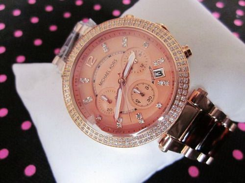 Michael Kors Over-sized Parker Glitz Watch MK 1051