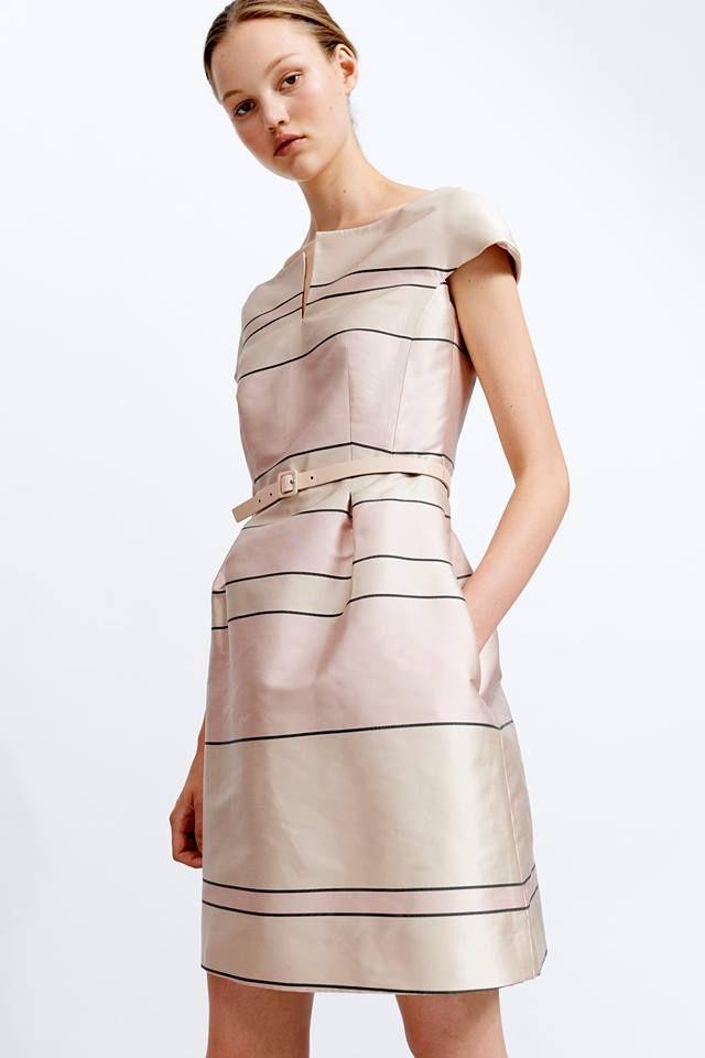 Spiksplinternieuw Mooi creme jurk in typische Natan-stijl. ss spring-summer 2019 hb RL-63