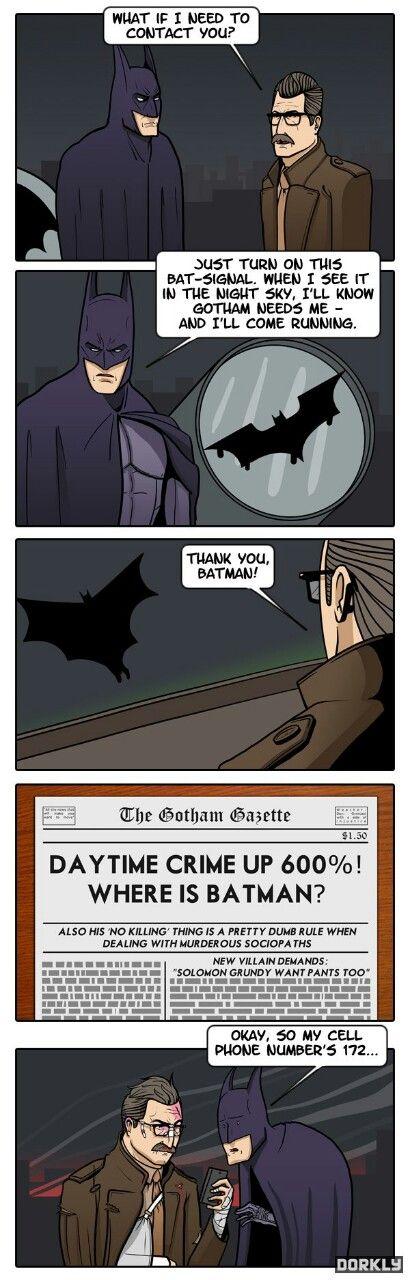 maybe gordon shouldnt use the batsignal batman overload