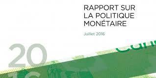 """Rapport la politique monétaire 2016-2017 pour """"argent beaucoup yen,won ,dollars, us, dinar, cfa"""
