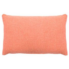 Heal's Sloane Coral Lumbar Cushion