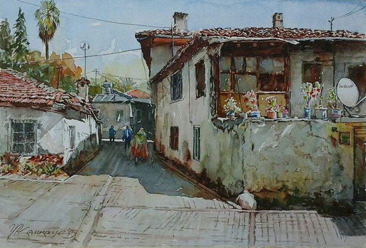 Yusuf Kemal Çankaya Turkish Watercolorist