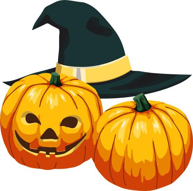Хэллоуин тыквы - Картинки клипарт