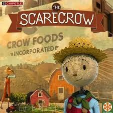 HoneyBeeHive - Scarecrow video from Chipotle, factory farms, grow your own food, cultivate change