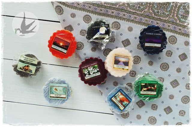 My collection of Yankee Candle waxes. Are there any of your fav?