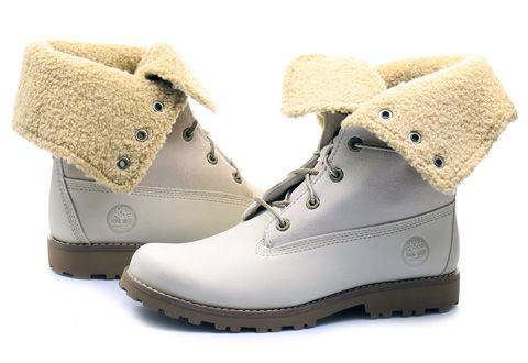Timberland Topánky - 6 In Shearling Boot - 21926-WHT