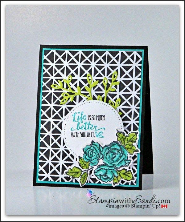 Petal Passion Suite from Stampin Up card by Sandi @ stampinwithsandi.com #stampinup #stampinupPetalPalette #stampinwithsandi #sandimaciver #handmadecards #stampinupcardideas,