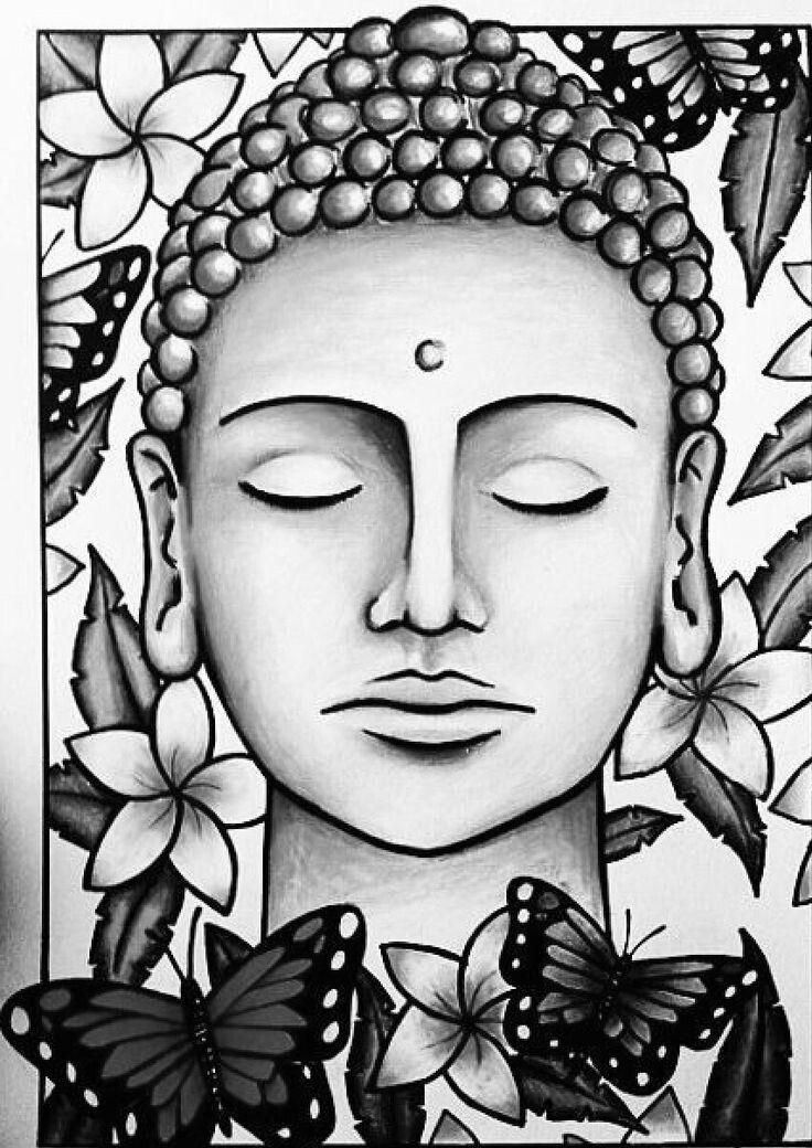 Epingle Par Sam Corlett Sur Tatted Ideas Peinture De Bouddha