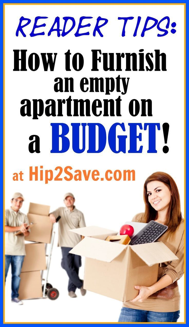 How Do YOU Furnish an Empty Apartment on a Budget? Plus, Share YOUR Budgeting Tips… – Hip2Save