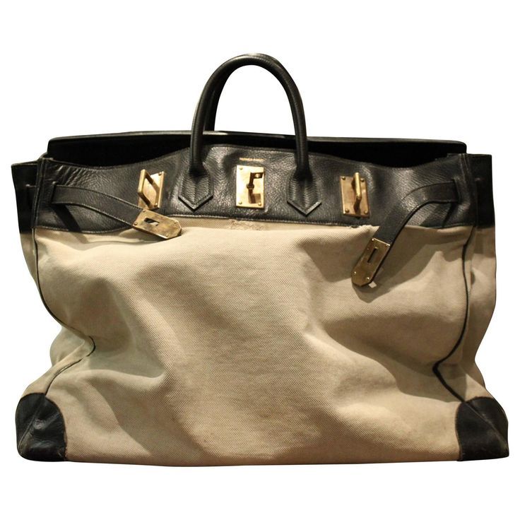 Hermes HAC Bag | From a unique collection of antique and modern trunks and luggage at https://www.1stdibs.com/furniture/more-furniture-collectibles/trunks-luggage/