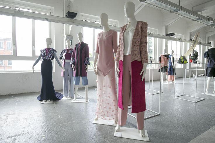 Fashion Designer: Marta Romano - Elisa Torrisi Event: MilanoModaGraduate by Piattaforma Sistema Formativo Moda e Camera Nazionale della Moda Italiana