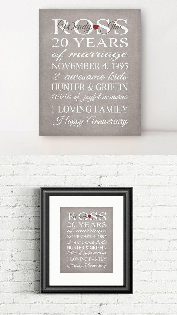 Best 25+ 20 Year Anniversary Ideas On Pinterest