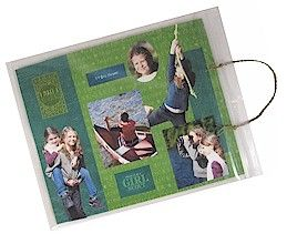 Is it a scrapbook page or a Girl Scout sit-upon? It's both! Check out this…