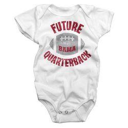 Alabama White Future Quarterback Onesie - Roll Tide District
