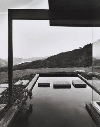 Pierre Koenig architecte  Julius Shulman photographe