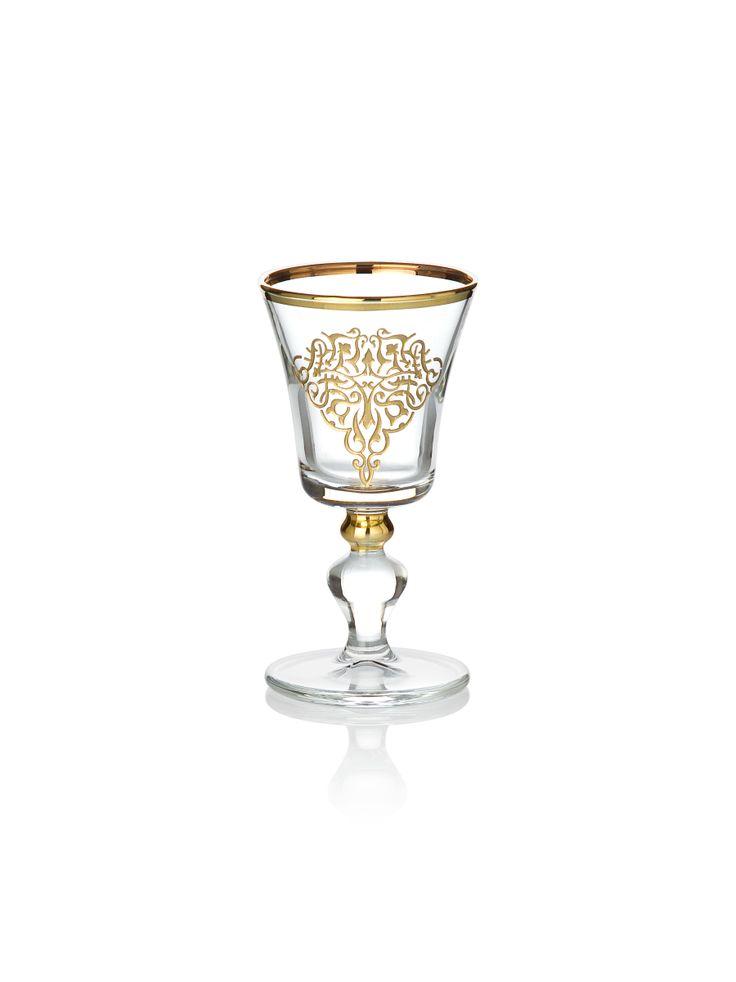 Bernardo Osmanlı Serisi Likör Bardağı / Liqueur Glass #bernardo #glass #ottoman